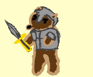 bear in shining armor