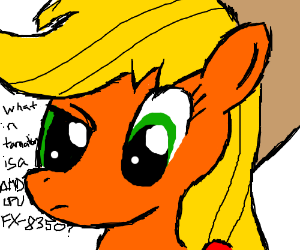 My Little Pony confused by AMD CPU FX-8350