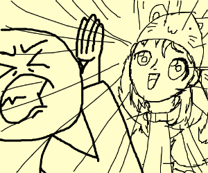 Kawaii girls! Shield your eyes!