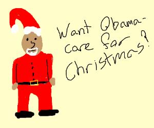 Santa Obama