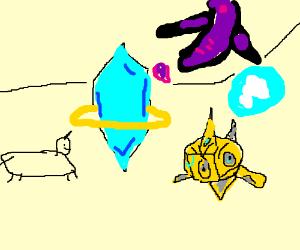 A guy playing PvZ who likes unicorns
