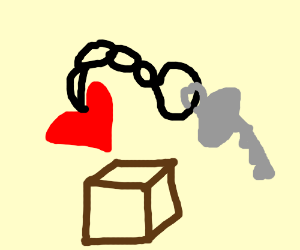keychain with box