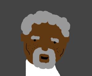 old morgan freeman