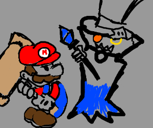 Its mario hammer time