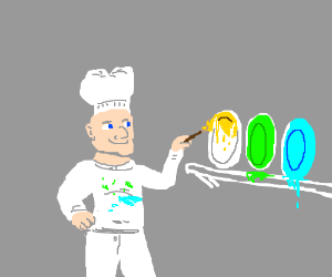 Bad Chef Seeks to Make His Dishes More Colorfu