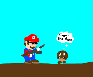 Mario's personality revamped by edgy dev team