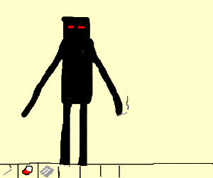 Enderman on drugs