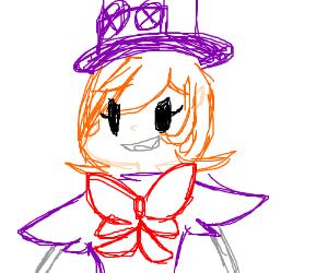 Magical steampunk girl