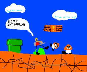 New Mario bros Duke Nukem Edition is unfair