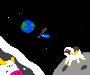 The cow dreams of jumping over the moon