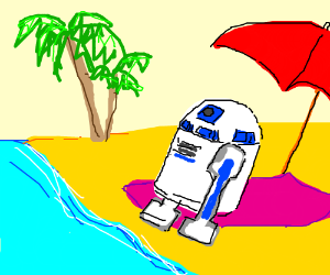 R2D2's vacation