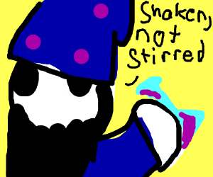 Warlock prefers potions shaken, not stirred.