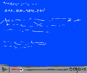 YouTube's Blue Screen of Death lasts's 45 sec.