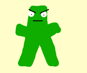 I'm Gumby damnit