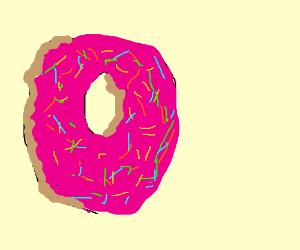 Bye my donut girlfriend!