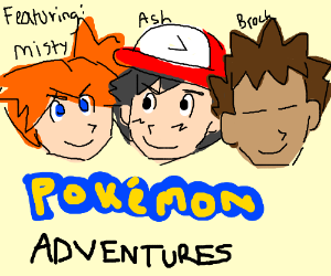 Pokemon Adventure - Ash, Misty & Brock