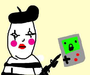 Mimes stealing your Virtual Boy at gunpoint!