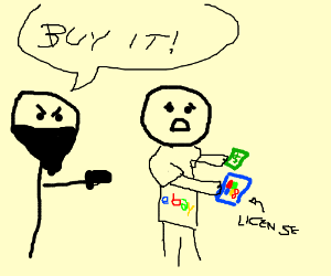 ebay forcedly buying Windows8 license