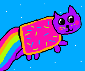 Nyan cat to the rescue!