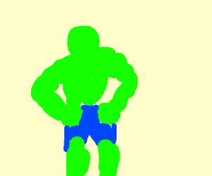Hulk Green. Hulk Strong.