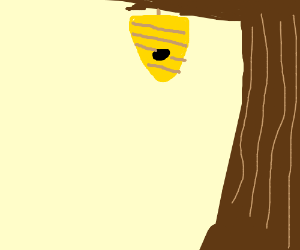 Bee house in a Tree