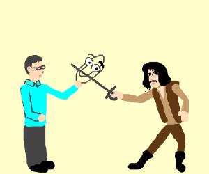 Bill Gates vs Inigo Montoya