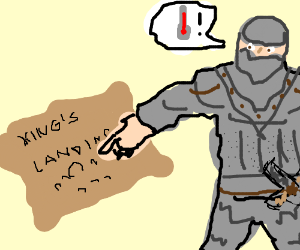 Knight tells u The King's Landing is too Warm