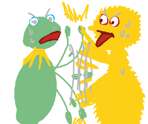 Kermit vs Big Bird
