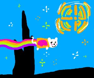 Nyan Starry Night