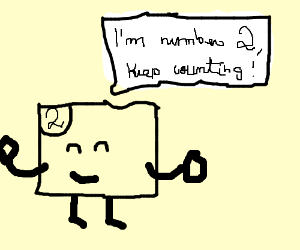 I am panel number one, continue counting
