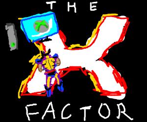 X-men play Xbox on The X Factor. Draw, plx?