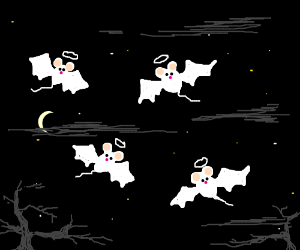 Bats are Mice-Angels