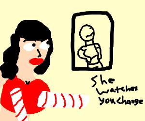 Katy Perry stalks you.