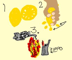 Combustible lemons!