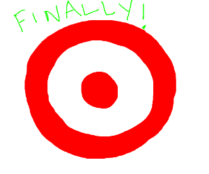 Finally found the target logo on the internet!