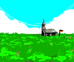 German church in the middle of nowhere