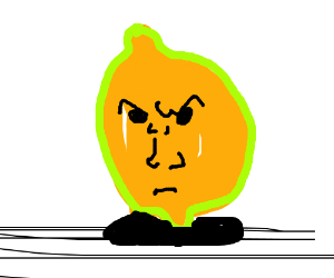 Angry Lemonster