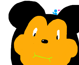 The Man behind the mouse, Mickey mouse