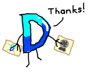Drawception D receives fan art