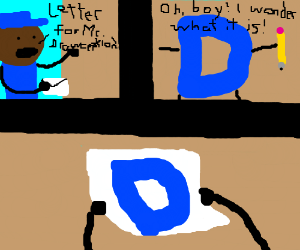 Letter for Mr.Drawception!New York, POBox12345