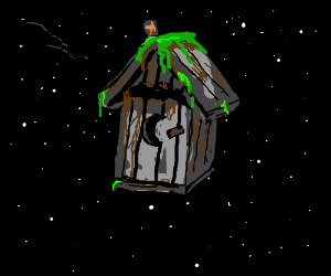 Outhouse in Space
