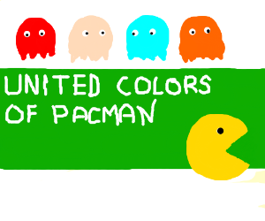 united colors of pacman