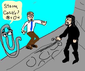 Inigo Montoya attacks Bill Gates & Clippy