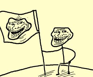Troll got flagged