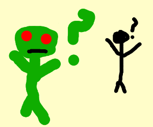 an alien cant communicate