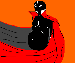 Spawn has really let himself go.