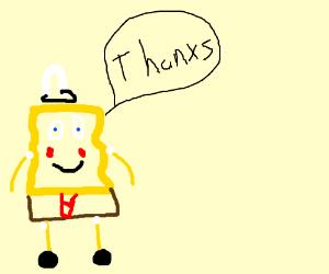 Spongebob gets a compliment