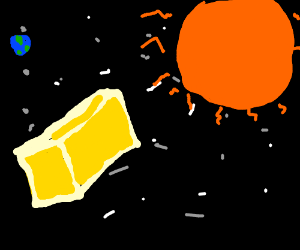 Butter............................... IN SPACE