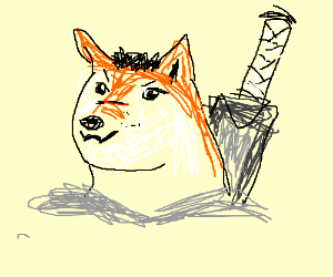 Your fav anime if doge was a character