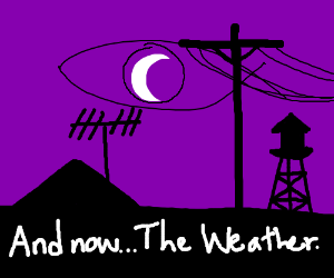 And now... The Weather.